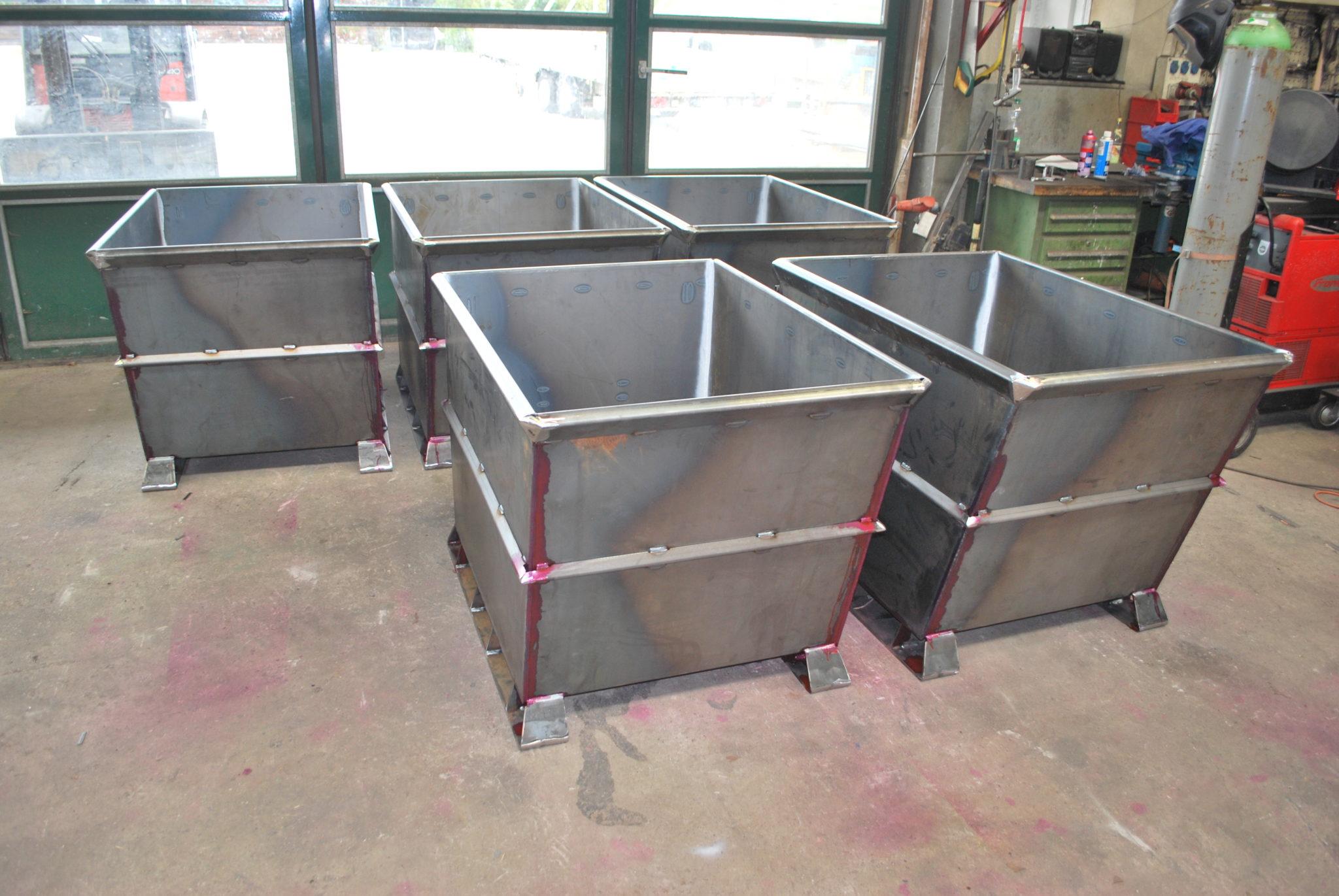 Benno Wimmer Mechanische Werkstätte und Metallbau | Transportbehälter